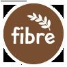 high in fibre badge