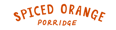 spiced orange porridge