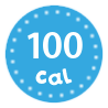I'm only 100 calories per serving