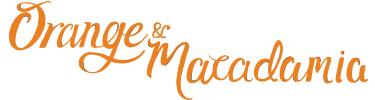 orange and macadamia granola