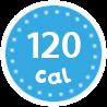 I'm only 120 calories per serving