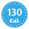 I'm only 130 calories per serving