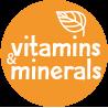 vitamins and minerals badge