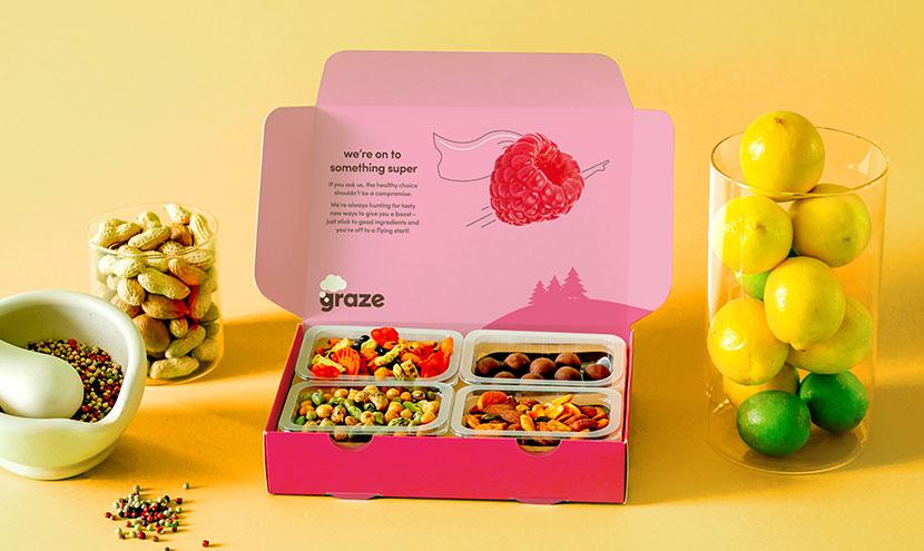 Graze Healthier Snacks By Mail